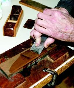 sharpening on stone